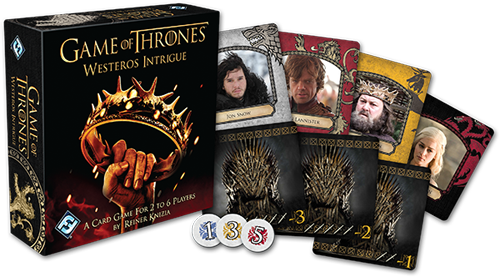 Westeros Intrigue -layout