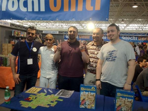 GameCon 2012: Finale Nazionale e Nuovo Campione di Carcassonne