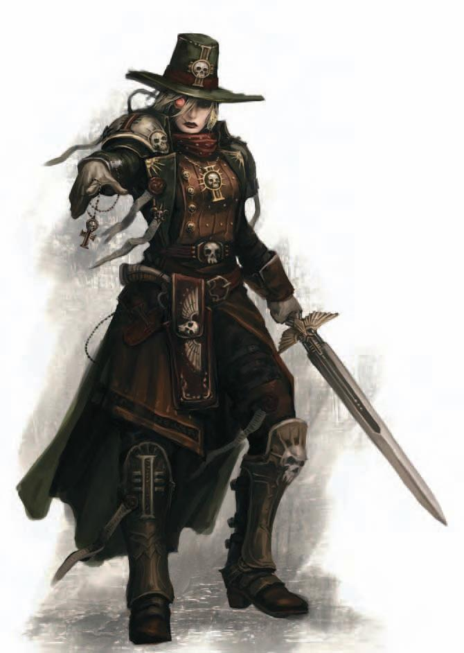 Dark Heresy Hereticus Inquisitor Witch Hunters