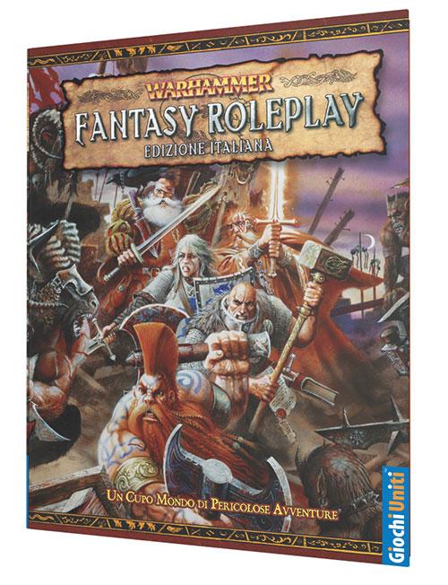 Giochi Uniti Annuncia la ristampa della Linea Warhammer Fantasy Roleplay Seconda Edizione