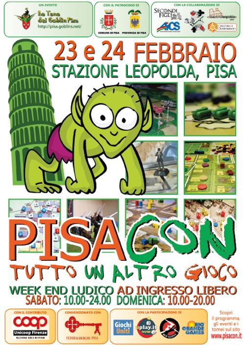 Appuntamento con PisaCon2013. Dal 23 al 24 Febbraio alla Stazione Leopolda!