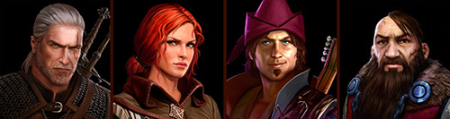 The-Witcher CharacterPortraits