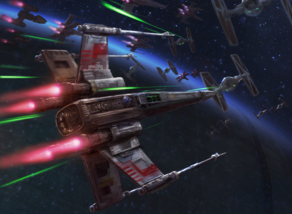 X-Wing Imperial-Counterattack