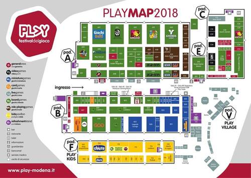 play 2018 mappa