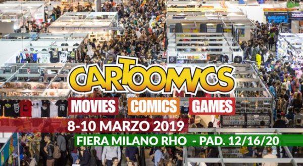 Giochi Uniti a Cartoomics 2019!