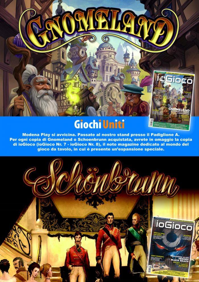 PLAY 2019: Gnomeland e Schoenbrunn con IoGioco