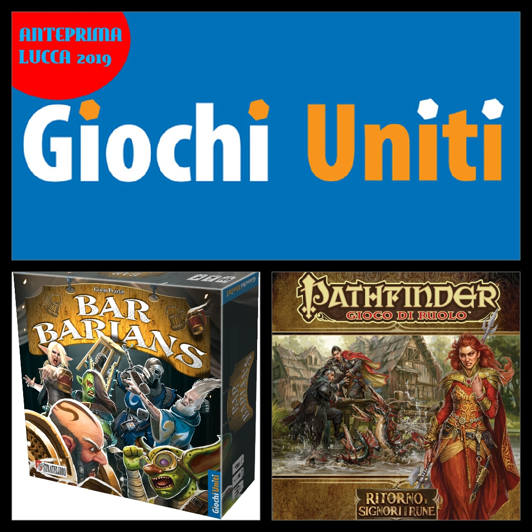 Giochi Uniti Lucca Comics 2019