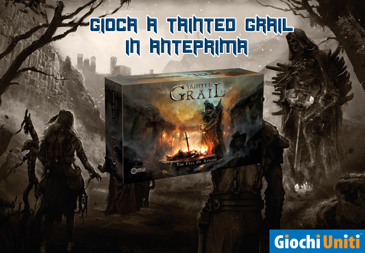TAINTED GRAIL – GAME SESSION ESCLUSIVA