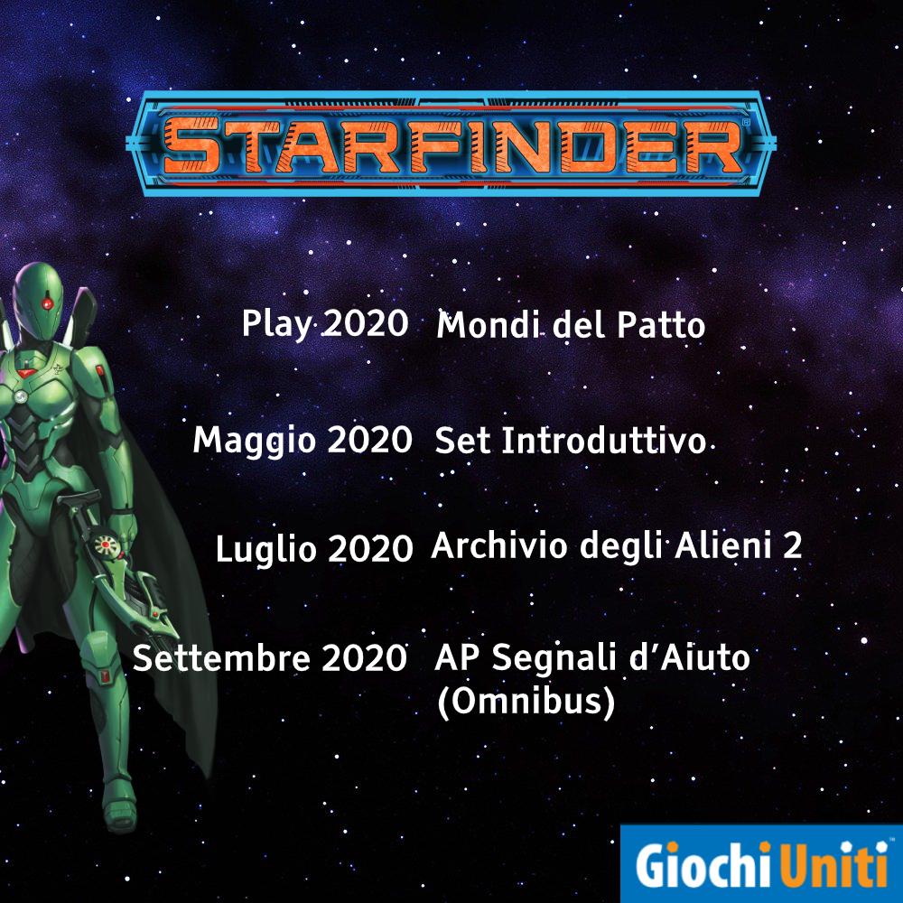 Starfinder linea editoriale