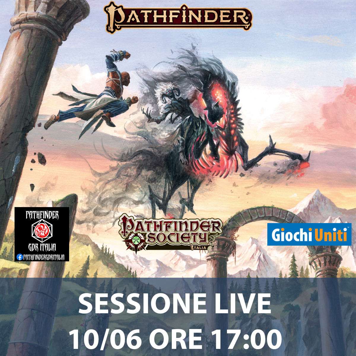 Pathfinder Sessione Live