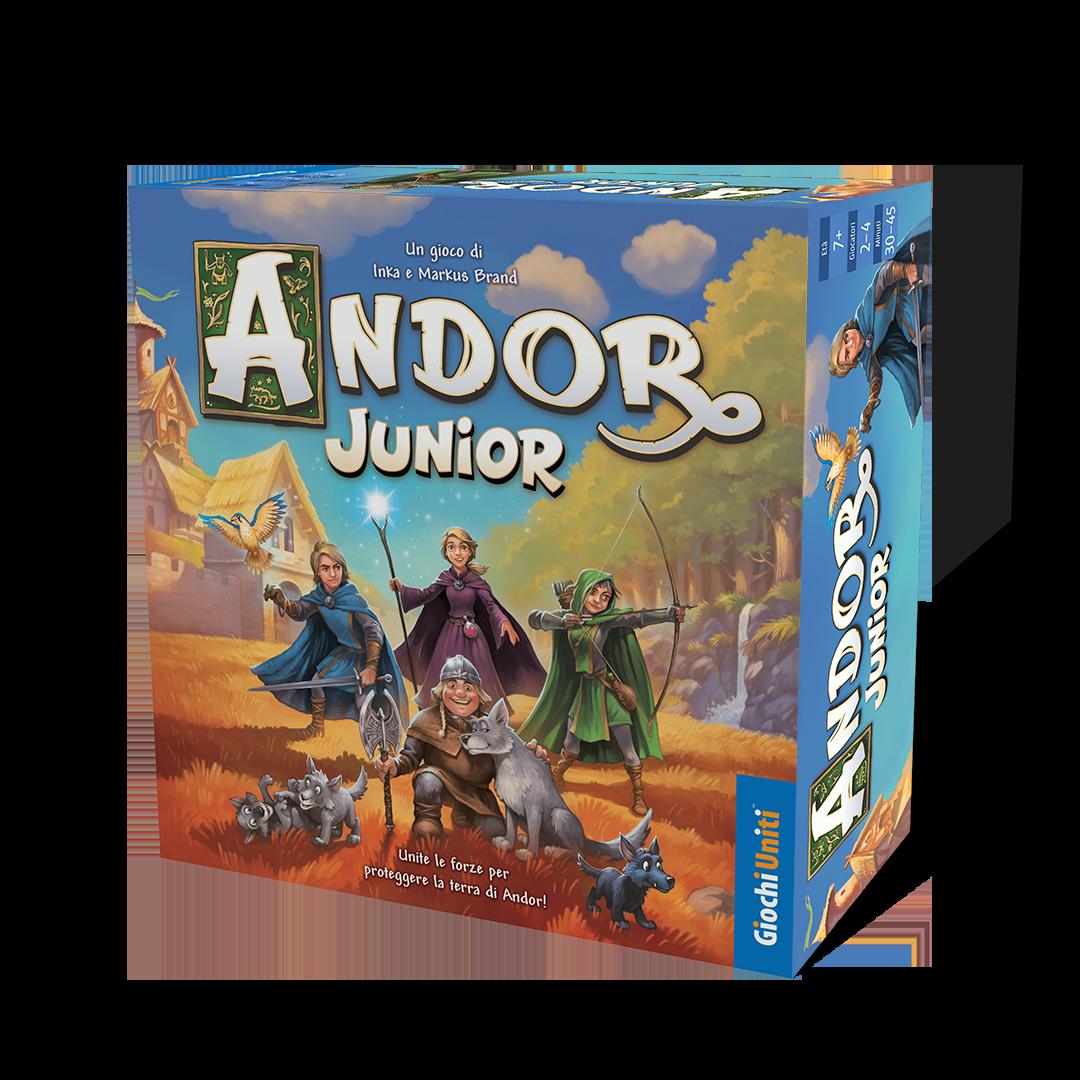 Andor Junior in Italia