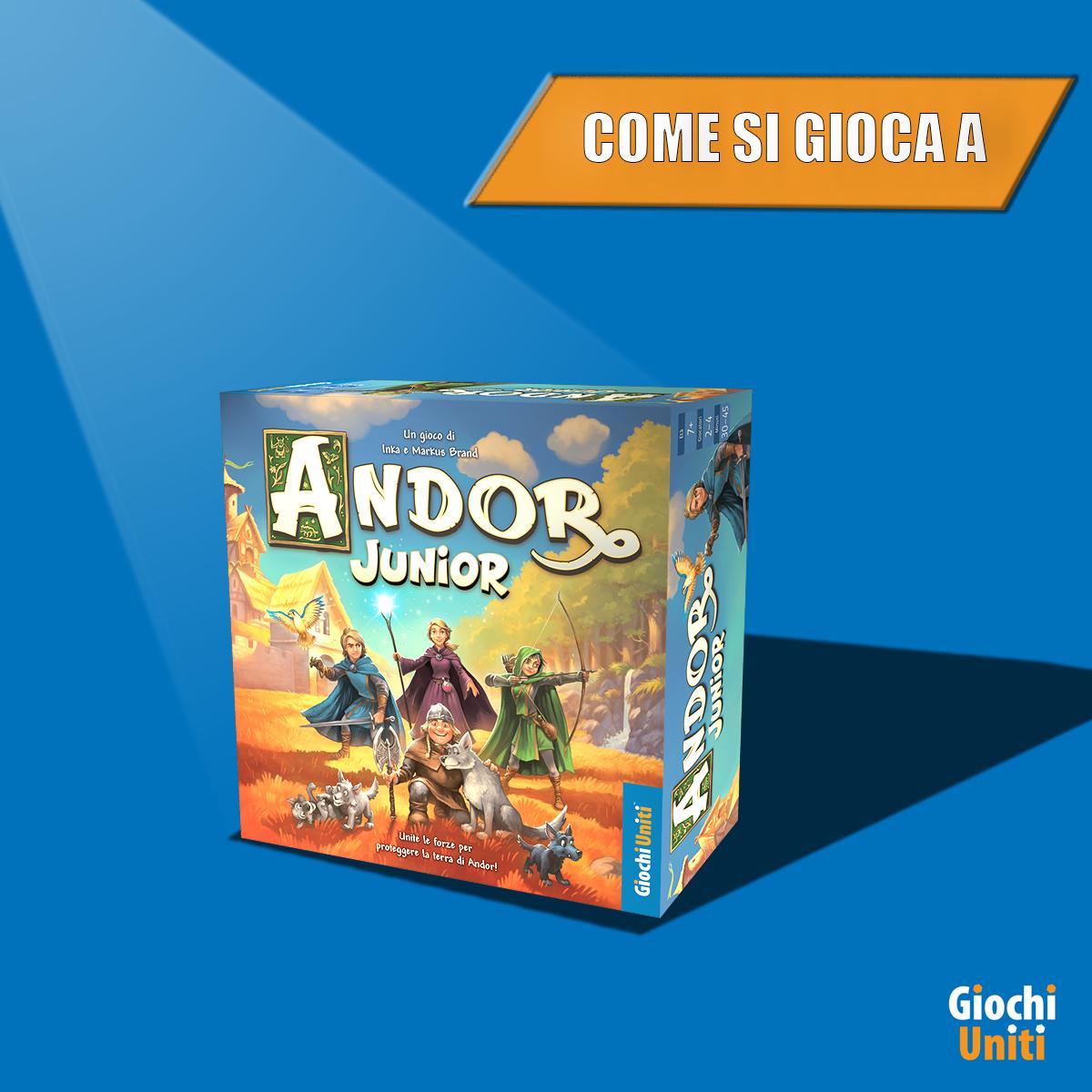 Andor Junior - come si gioca