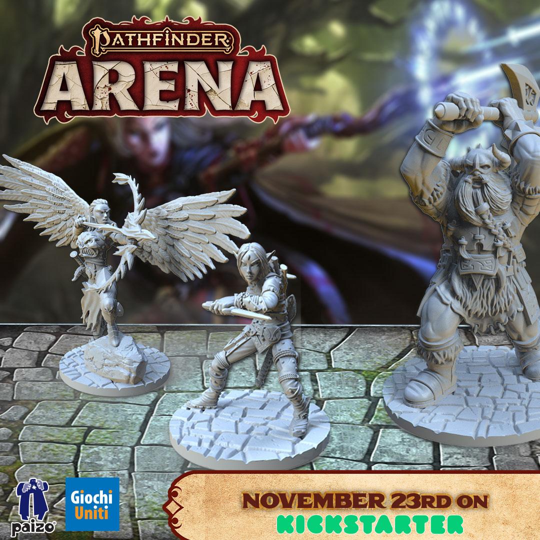 Pathfinder Arena Day 1 su Kickstarter